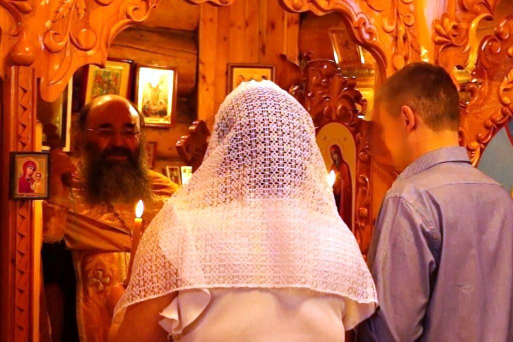 В мурманской колонии состоялся обряд православного венчания