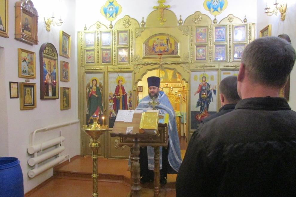 В колониях Мурманской области прошли крещенские православные мероприятия