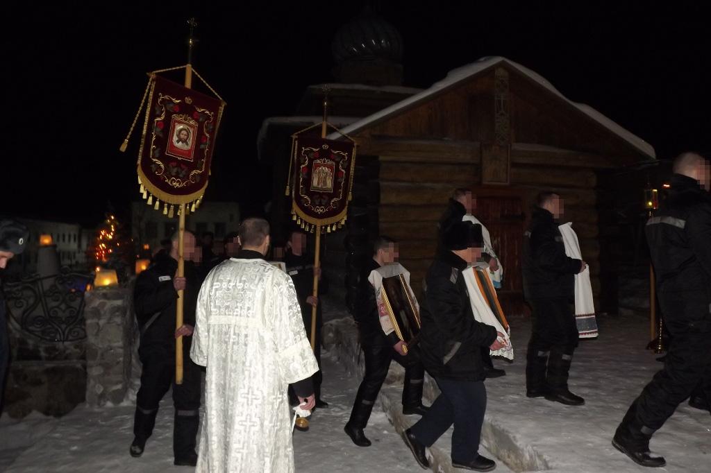 В ревдинской колонии прошла рождественская служба для верующих осуждённых
