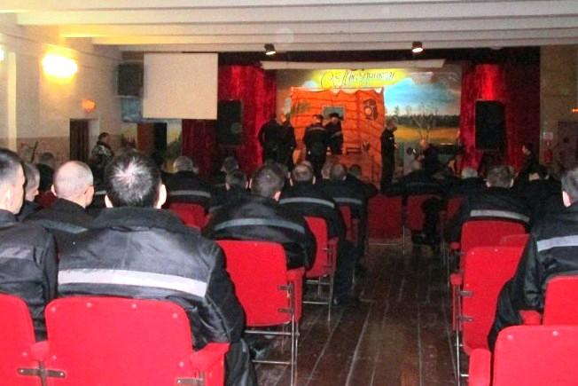 Театральное выступление на религиозную тематику в ИК-16